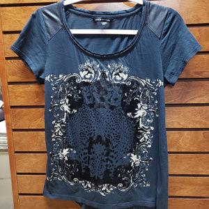Rock & Republic small black short sleeve shirt